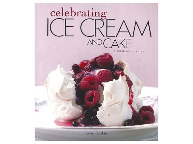 Leisure Arts Celebrating Ice Cream and Cake Book