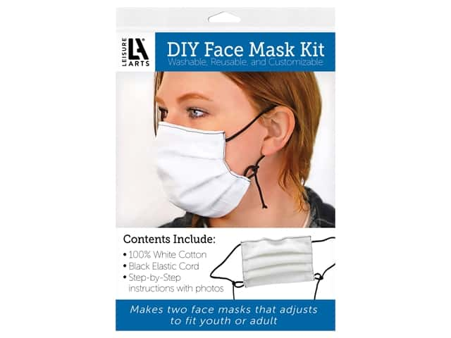 Leisure Arts Kit DIY Face Mask