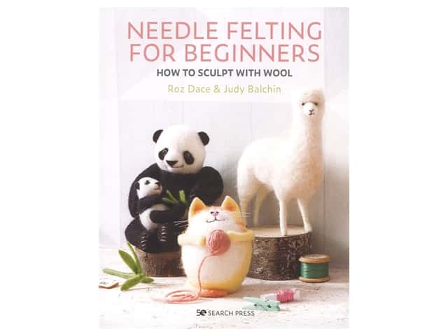 Search Press Needle Felting For Beginners Book