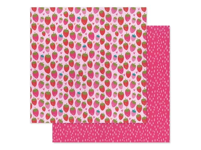 Bella Blvd Collection Squeeze The Day Paper 12 in. x 12 in. So Berry Sweet