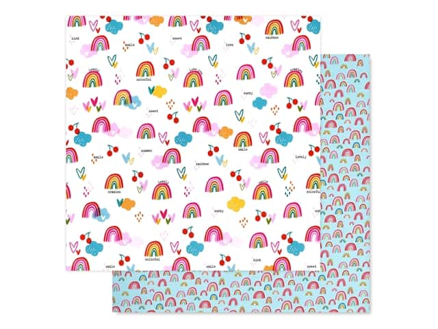 Bella Blvd Collection Squeeze The Day Paper 12 in. x 12 in. Sweet Skies