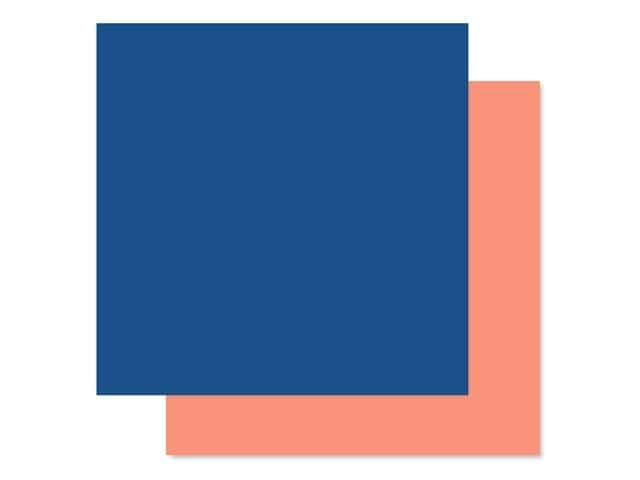 Echo Park Collection Dive Into Summer Paper 12 in. x 12 in. Blue/Peach
