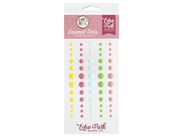 Echo Park Collection All Girl Enamel Dots