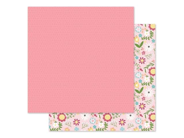 Echo Park Collection All Girl Paper 12 in. x 12 in. Floral