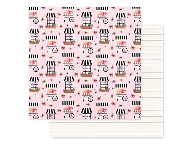 Carta Bella Collection Summer Market Paper 12 in. x 12 in. Fun In The Sun
