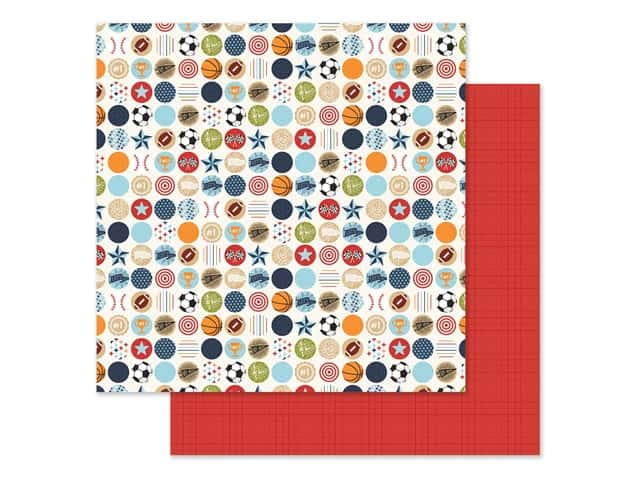 """Echo Park Collection All Boy Paper 12""""x 12"""" Go See Do"""