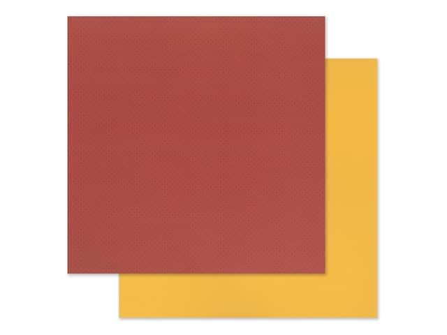 """Photo Play Collection Another Day At The Park Paper 12""""x 12"""" Solids Plus Red/Yellow"""
