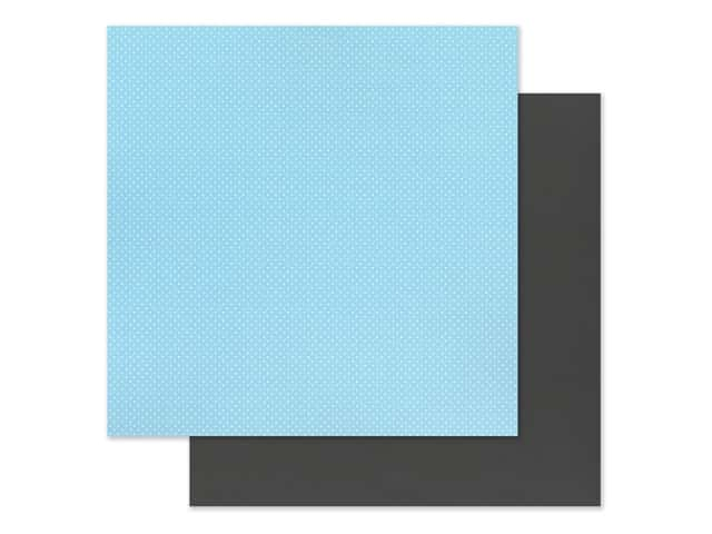 """Photo Play Collection Another Day At The Park Paper 12""""x 12"""" Solids Plus Light Blue/Black"""