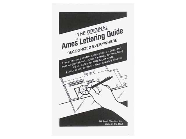 Pro Art Ames Lettering Guide