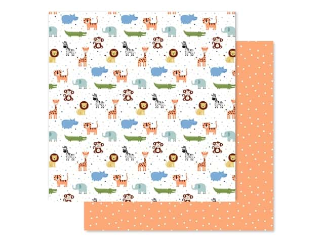 "Echo Park Collection Baby Boy Paper 12""x 12"" Bundle Of Joy"