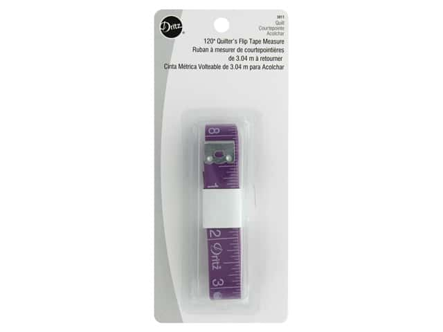 Dritz Quilting Quilter's Flip Tape Measure 120 in.