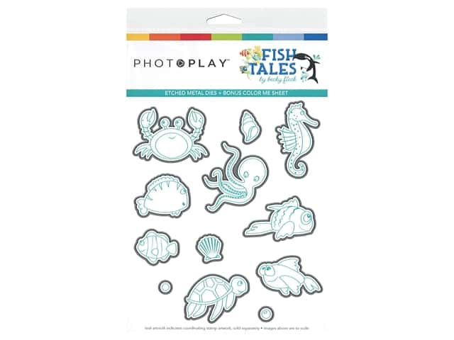 Photo Play Collection Fish Tales Dies Element