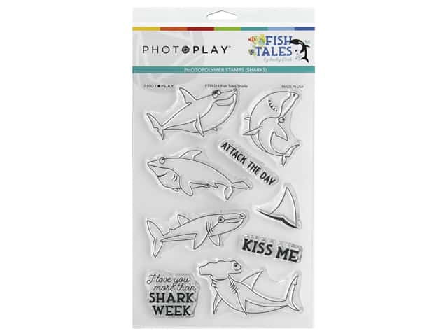 Photo Play Collection Fish Tales Stamp Shark