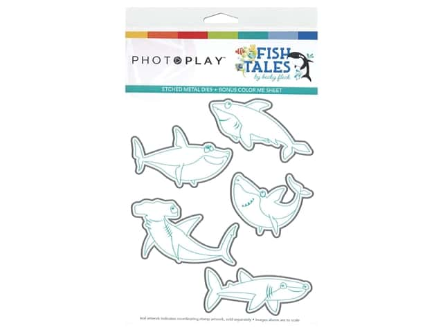 Photo Play Collection Fish Tales Dies Shark