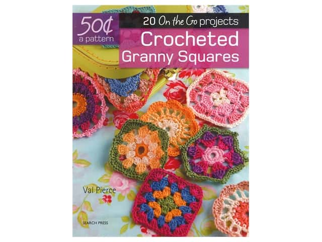 20 On the Go Projects Crocheted Granny Squares Book