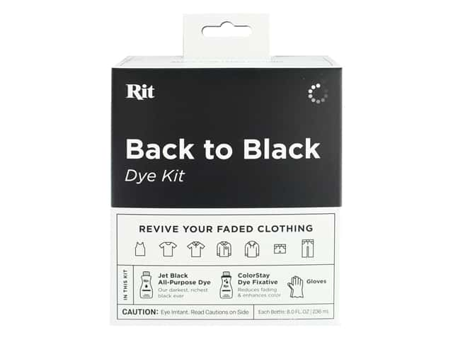 Rit Dye Kit Back To Black