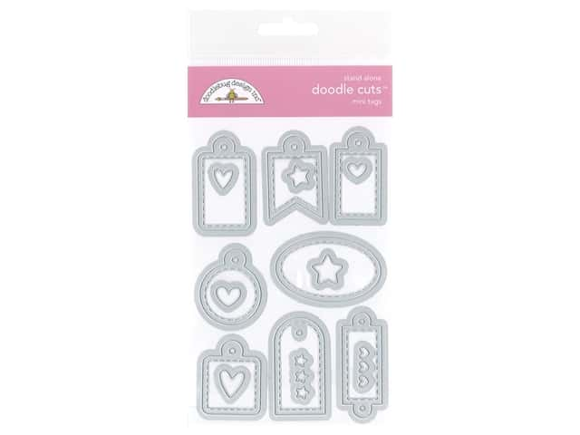 Doodlebug All Occasion Doodle Cuts Die Mini Tags
