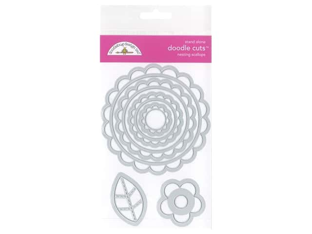 Doodlebug All Occasion Doodle Cuts Die Nesting Scallop