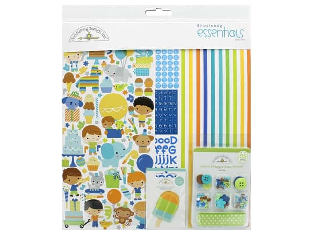 Doodlebug Party Time Essentials Kit
