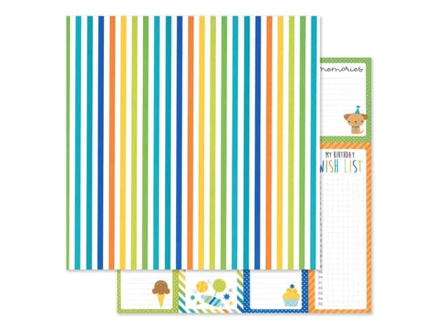 "Doodlebug Party Time Paper 12""x 12"" Wrap It Up"