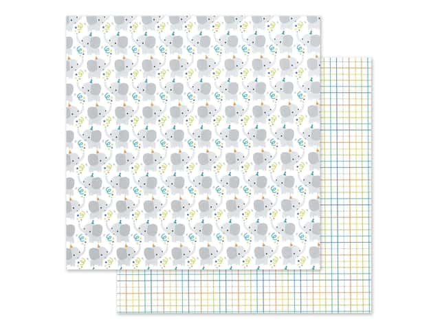 "Doodlebug Party Time Paper 12""x 12"" Big Celebration"