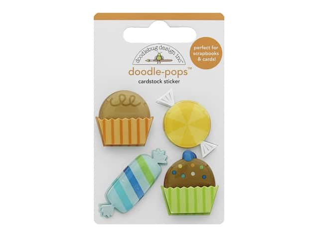 Doodlebug Party Time Doodle Pops Party Favors