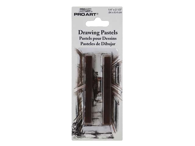 Pro Art Mark Drawing Pastel Bistre 2 pc