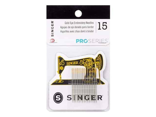 Singer ProSeries Embroidery Needles with Magnet 15pc
