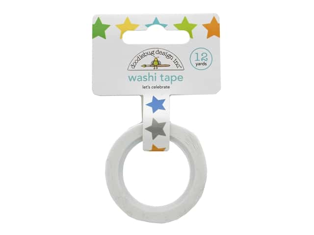 Doodlebug Party Time Washi Tape Let's Celebrate