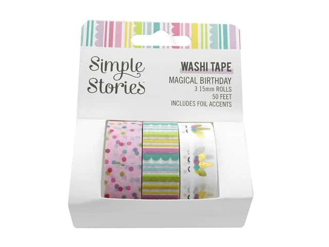 Simple Stories Magical Birthday Washi Tape