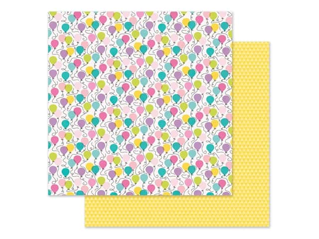 """Simple Stories Magical Birthday Paper 12""""x 12"""" It's Your Day"""