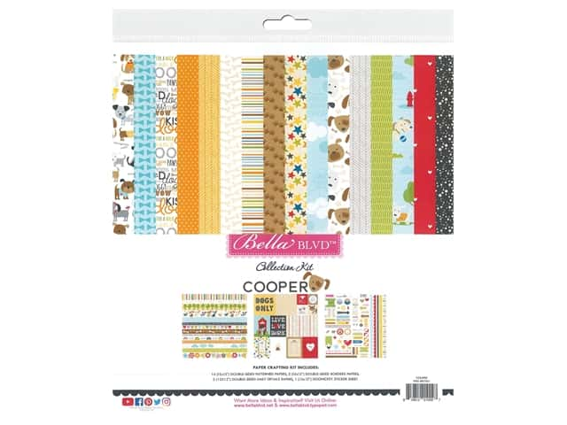 """Bella Blvd Collection Cooper Collection Kit 12""""x 12"""""""