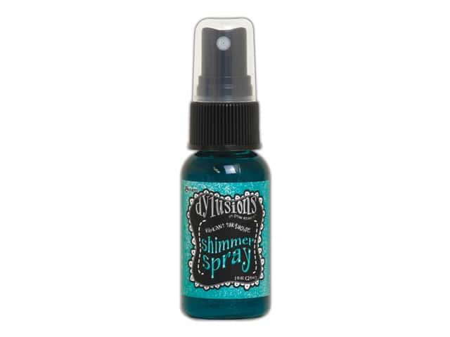 Ranger Dylusions Spray Shimmer Spray 1oz Vibrant Turquoise