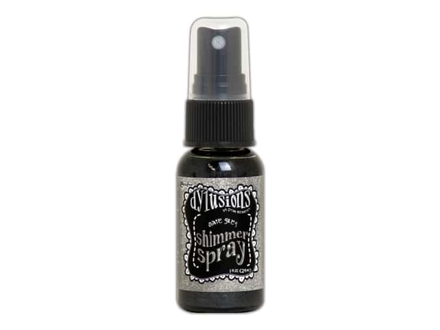 Ranger Dylusions Spray Shimmer Spray 1oz Slate Grey