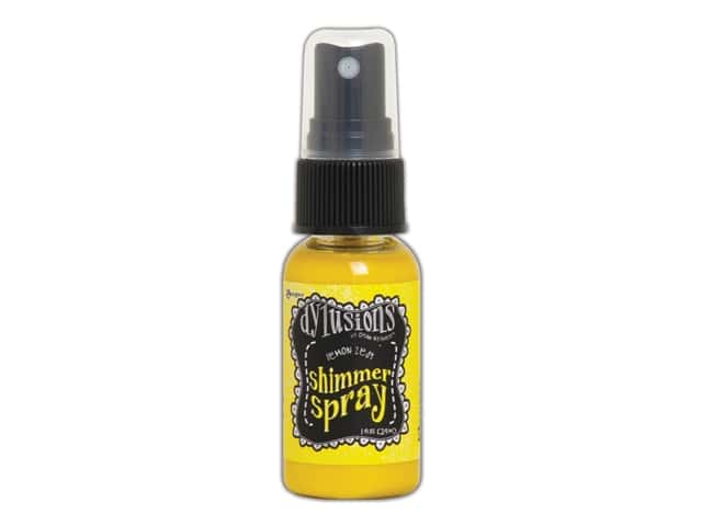 Ranger Dylusions Spray Shimmer Spray 1oz Lemon Zest