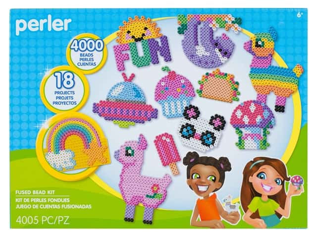 Perler Fused Bead Kit Box Deluxe Summer Fun