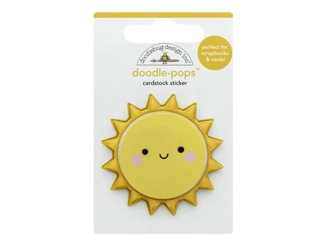 Doodlebug Collection Bar-B Cute Doodle Pops Fun In The Sun