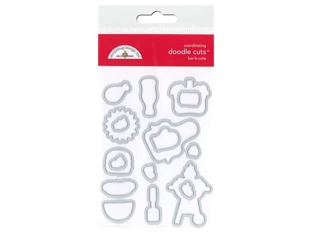 Doodlebug Collection Bar-B Cute Doodle Cuts Die