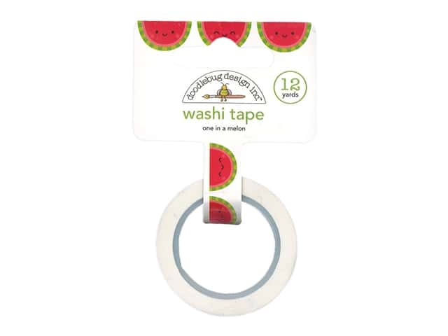 Doodlebug Collection Bar-B Cute Washi Tape One In A Melon