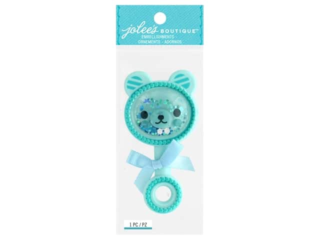 EK Jolee's Boutique Small Baby Boy Rattle
