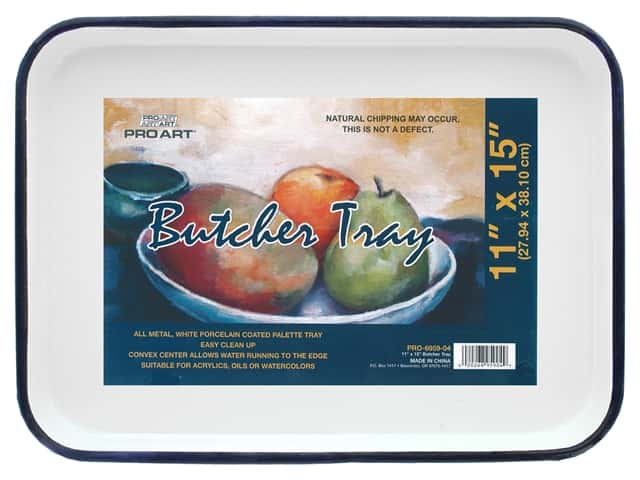 Pro Art Butcher Tray Palette - 11 x 15 in.