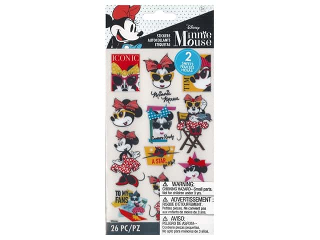 EK Disney Sticker Hollywood Minnie