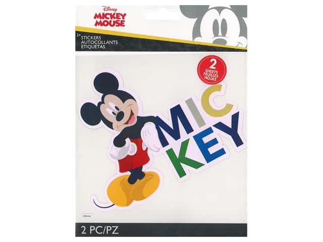 EK Disney Sticker Large Mickey Mouse