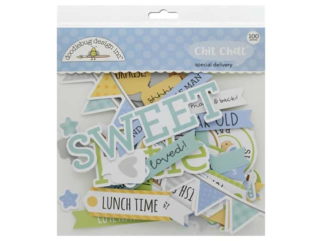 Doodlebug Collection Special Delivery Chit Chat