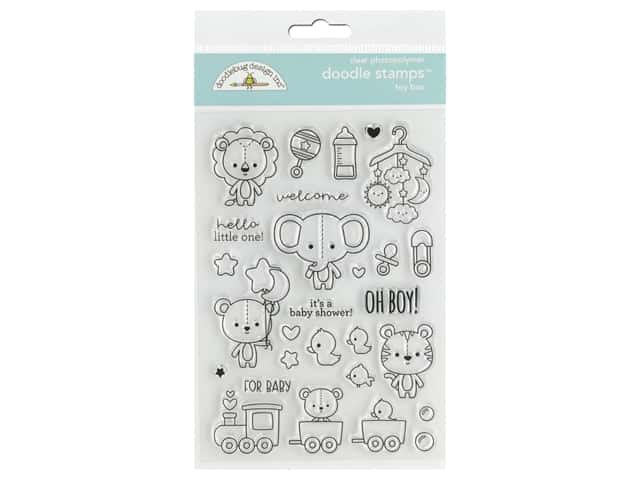 Doodlebug Collection Special Delivery Doodle Stamps Toy Box