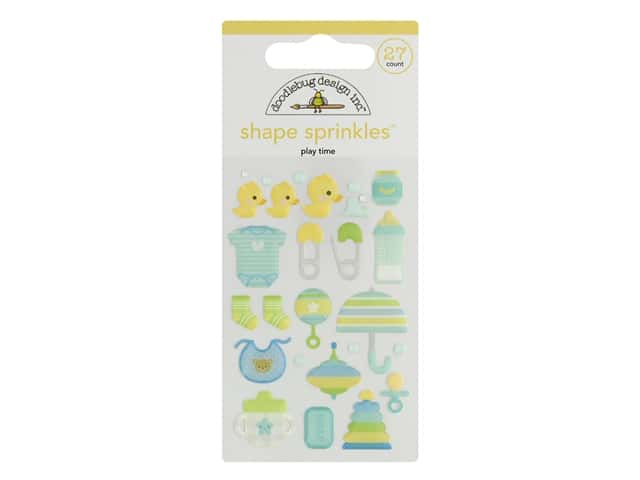 Doodlebug Collection Special Delivery Sprinkles Shape PlayTme