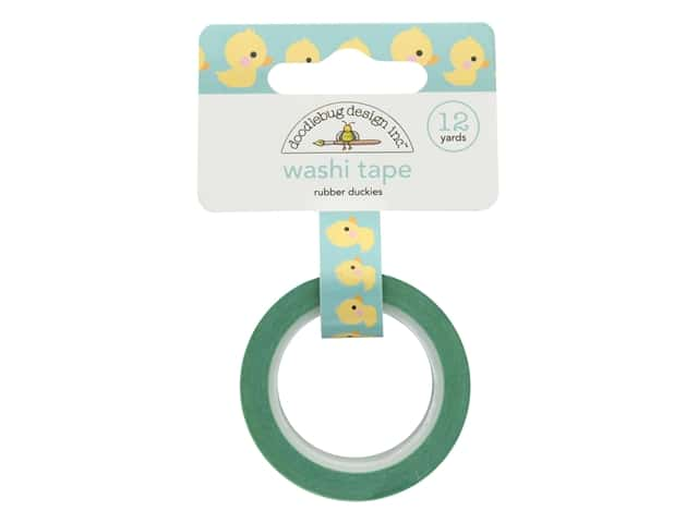 Doodlebug Collection Special Delivery Washi Tape Rubber Duckies