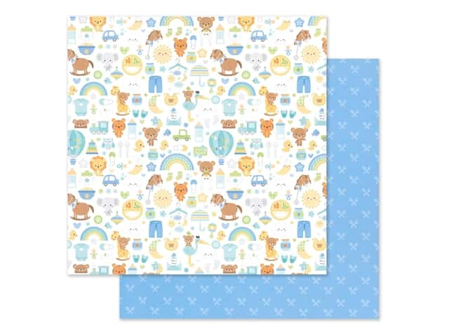 "Doodlebug Collection Special Delivery Paper 12""x 12"""