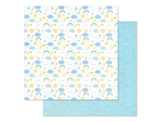 "Doodlebug Collection Special Delivery Paper 12""x 12"" Nighty Night"