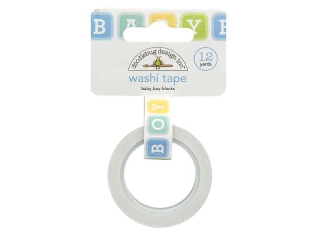 Doodlebug Collection Special Delivery Washi Tape Baby Boy